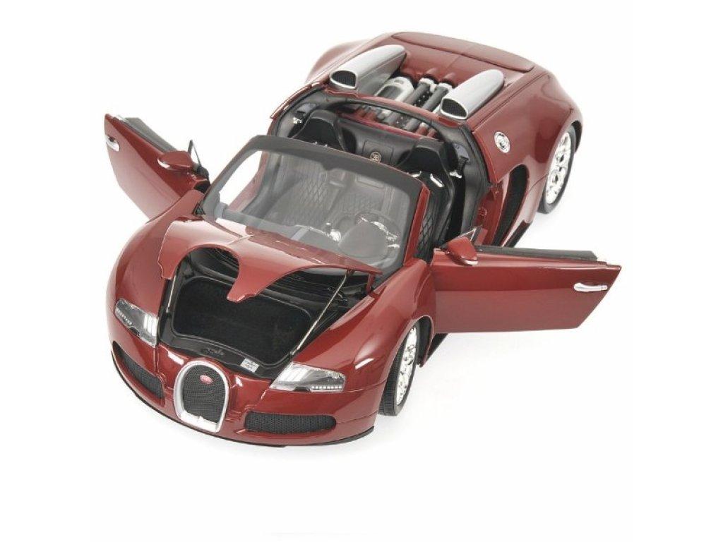 1:18 Minichamps Bugatti VEYRON GRAND SPORT - 2010 - RED/RED
