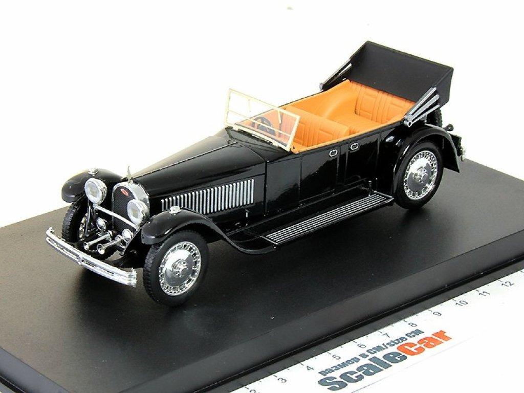1:43 Rio Bugatti 41 Royale Torpedo Open 1927 черный